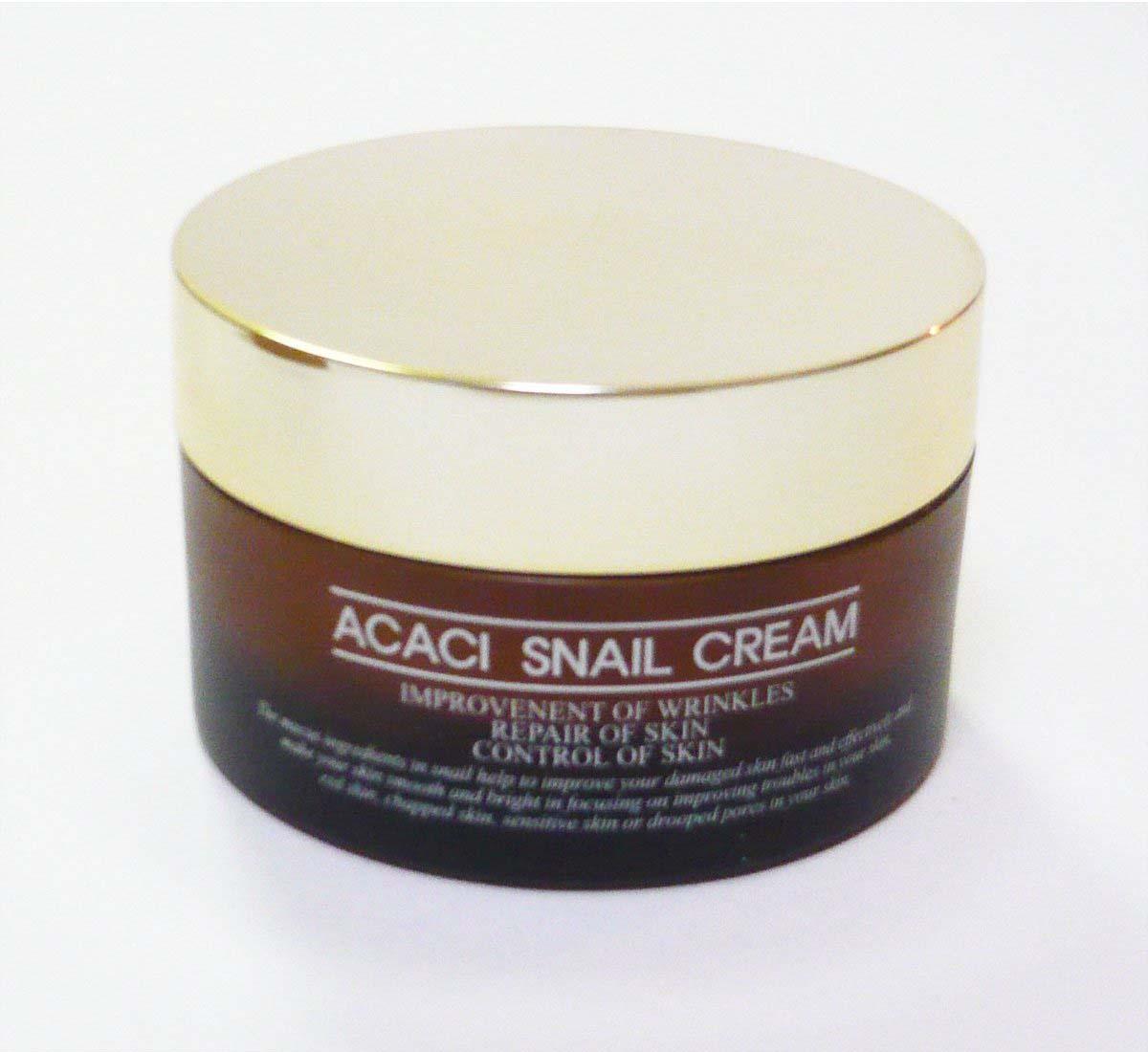 高濃縮のカタツムリの粘液抽出物(ミュシン)を配合し、お肌の乾燥や荒れを防止する高級肌再生クリーム