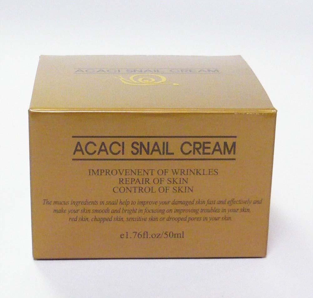 高濃縮のカタツムリエキスを配合し、お肌の乾燥や荒れを防止する高級肌再生クリーム